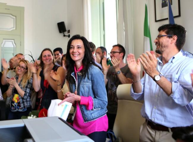 Porto Recanati in festa per Sabrina Montali