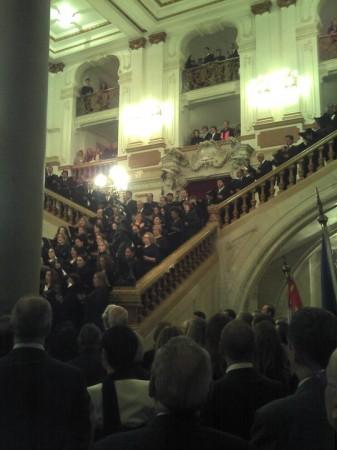 Teatro Municipale di San Paolo, celebrazioni 150 anni Unità' d'Italia