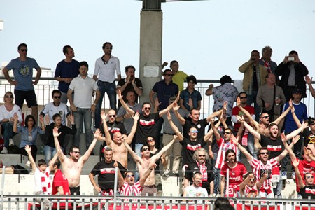 I tifosi della Maceratese a Termoli