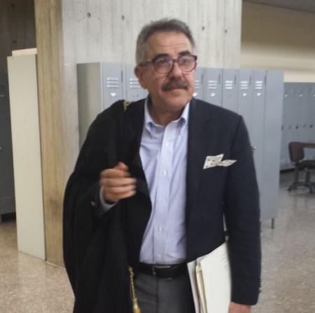 L'avvocato Vando Scheggia