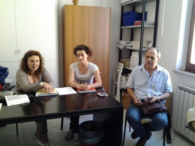 Nella foto Michela Verdecchia, Angelica Bravi e Aldo Benfatto