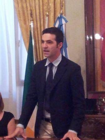 Il sindaco di Potenza Picena, Francesco Acquaroli