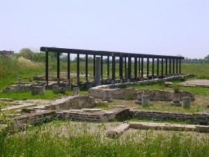 Alcuni risultati degli scavi di Potentia dal percorso archeologico attualmente esistente.