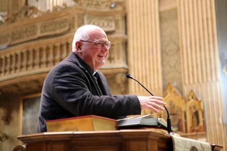 Monsignor Pietro Spernanzoni, vicario generale della Diocesi
