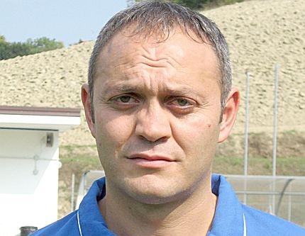l'allenatore del Trodica Stefano Crocetti