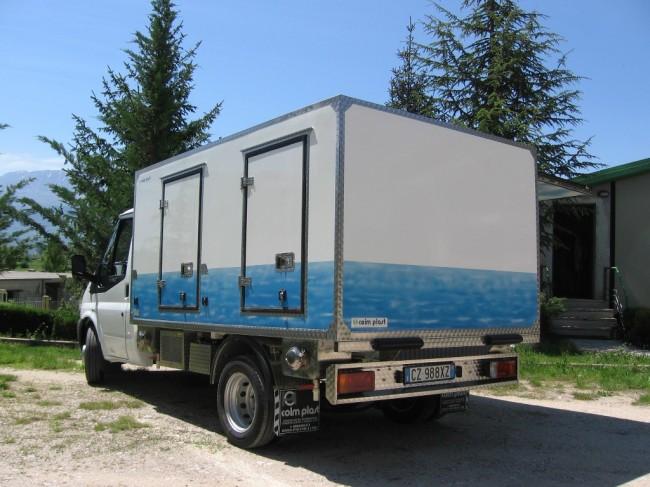 Il furgoncino della Coim Plast guidato da Pietro Sarchiè  (11)