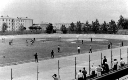 Il rigore dell'1-1 segnato da Lino Palanca