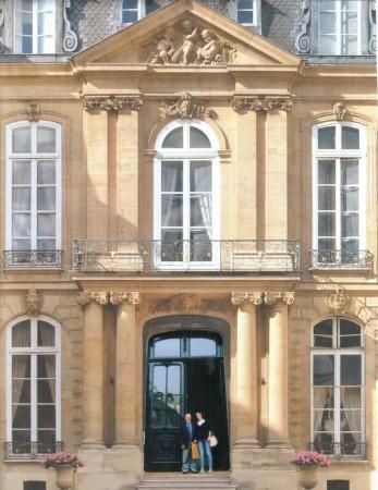L'ingresso dell'Ambasciata inglese a Parigi (1)