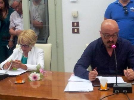 L'intervento di Giammario Poeta, che in Consiglio siede accanto all'ex sindaco e capogruppo GFP Rosalba Ubaldi