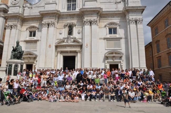 Marconi 4 con le Famiglie della Diocesi Loreto - 19-VI-2011