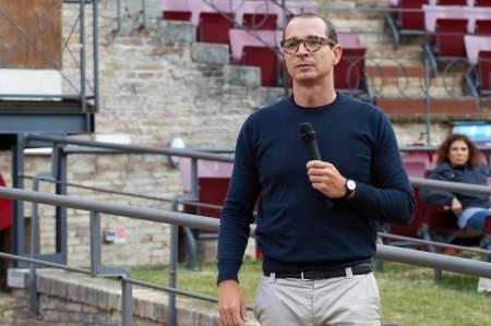 """Francesco Micheli alle prove di """"Aida"""""""