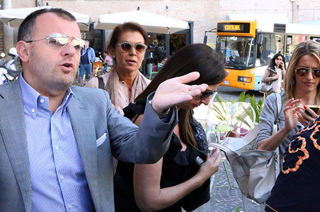 Protesta commercianti Carancini centro storico Macerata (29)