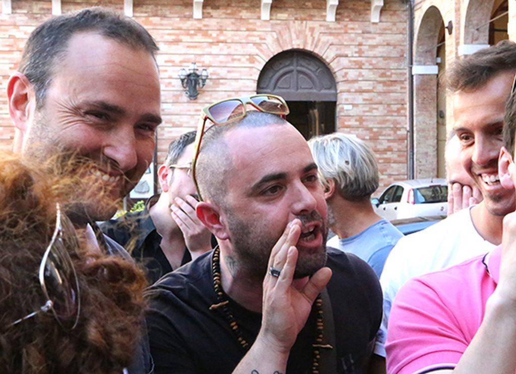 Protesta commercianti Carancini centro storico Macerata (30)