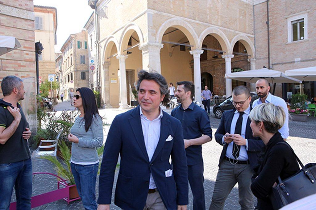 Protesta commercianti Carancini centro storico Macerata (7)