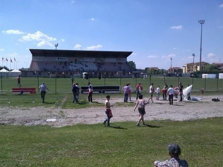 I tifosi del Matelica giunti a Correggio
