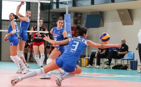 La nazionale under 19 di volley femminile