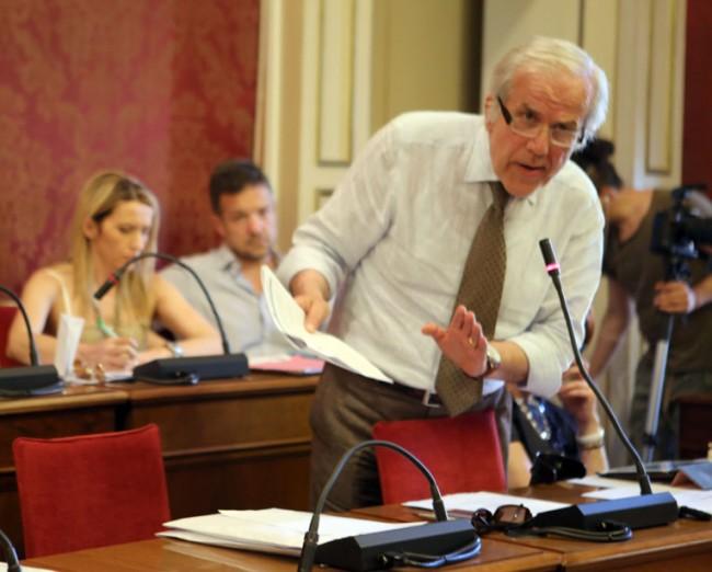 Giorgio Ballesi in consiglio