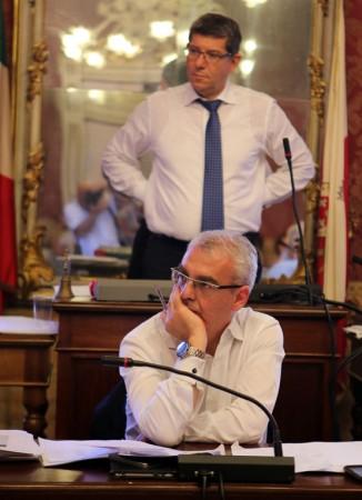 Il sindaco Carancini in consiglio comunale