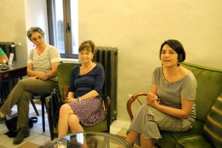 Elvira De Bellis, Maria Teresa Carloni, Letizia Carducci e Alberto Cicaré