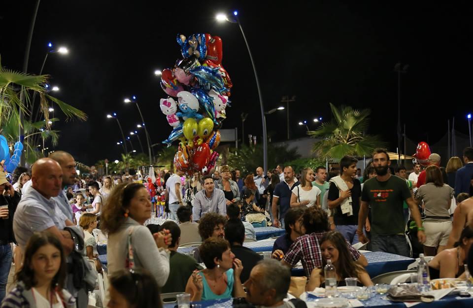 Una immagine della festa dello scorso anno