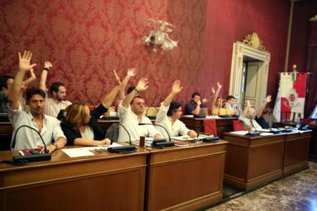 La votazione dell'opposizione