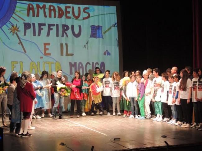 """Lo spettacolo """"Il Flauto Magico"""" al Teatro di Caldarola"""
