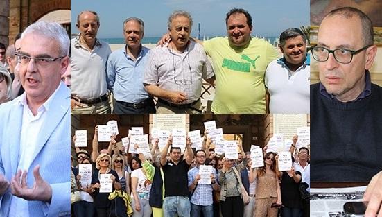 Confronti accesi a Macerata e Civitanova tra i commercianti e i sindaci Carancini e Corvatta