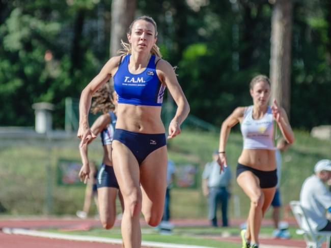 Annalisa Torquati ha migliorato se stessa sui 200 metri
