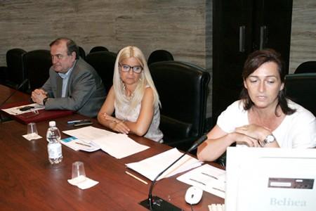 Giuliano Bianchi, Lorenza Natali e Annalisa Franceschetti