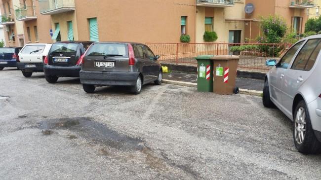 Cassonetti via Borghi, La Pace (1)