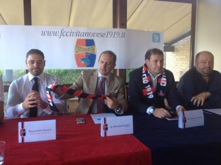 La nuova Civitanovese presentata da Bresciani