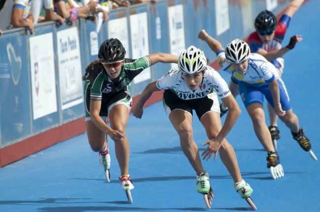 Lotta in pista ai Campionati italiani che si sono svolti a Casette Verdini
