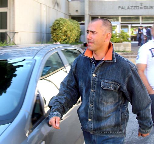 Giuseppe Farina, dopo l'interrogatorio
