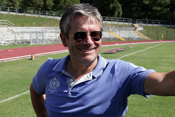 Il direttore sportivo della Maceratese Maurizio Gagliardini