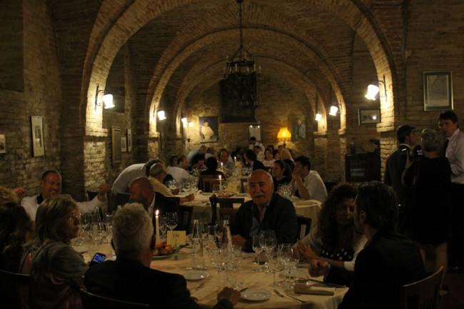 """La cena """"Uliassi On the Peach"""" ieri sera al ristorante La Luma di Montecosaro"""