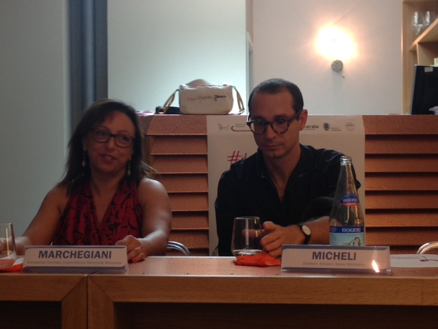 Ivana Marchegiani e Francesco Micheli