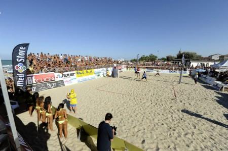 Lo spettacolo del beach volley arriva al Civitanova