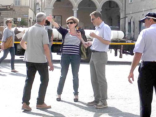 Lavori piazza libertà Macerata (1)