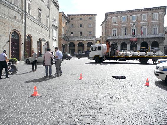 Lavori piazza libertà Macerata (8)