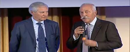Massaccesi riceve il testimone da presidente da Mosna, numero uno di Trento