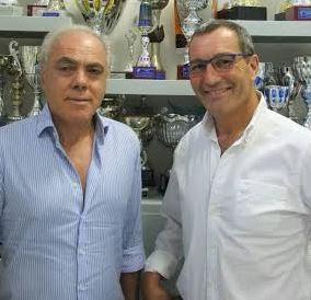 Massimo Giulietti in compagni di patron Pierini