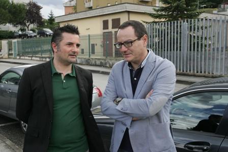 Gli avvocati Mauro Riccioni e Marco Massei, legali di Farina