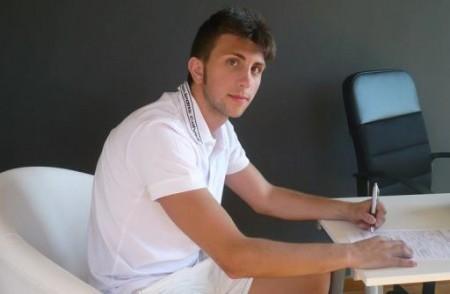 Michele Raffa firma per la Real Citanò