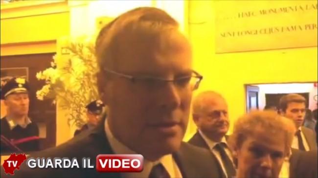 L'intervista all'ambasciatore Naor Gilon (clicca sull'immagine per vedere il video)