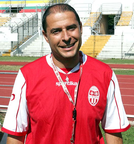 Il 2° allenatore Cicarè