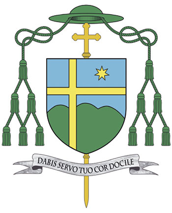 Lo stemma di Mons. Nazzareno Marconi