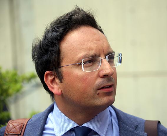 L'avvocato Tiziano Luzi