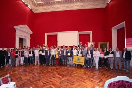 Comuni Ricicloni 2014 al palazzo comunale di Recanati
