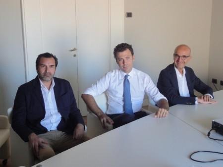 da-sinistra-GiorgioGiardinieri-PaoloPesaresi-ClaudioGigli