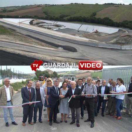 L'inaugurazione della discarica di Cingoli (clicca sull'immagine per guardare il video)